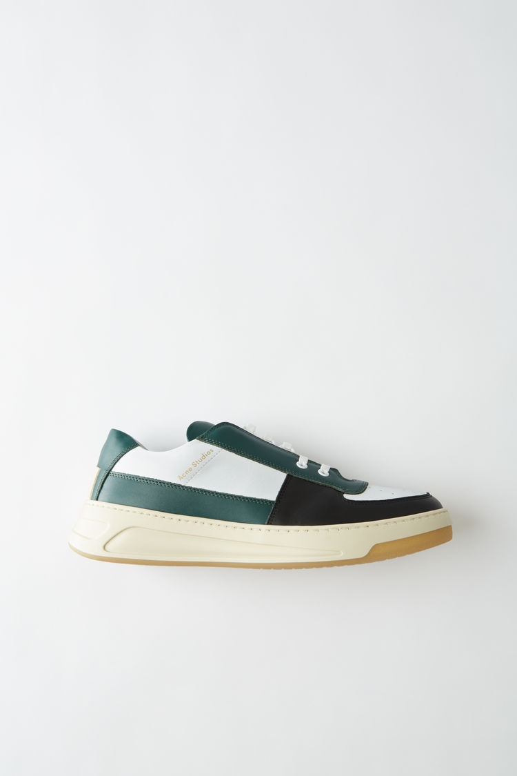 Lace Up Sneakers Green Multi by Acne Studios