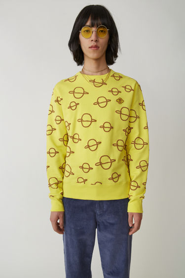 Acne Studios Faise Planets Yellow 375x