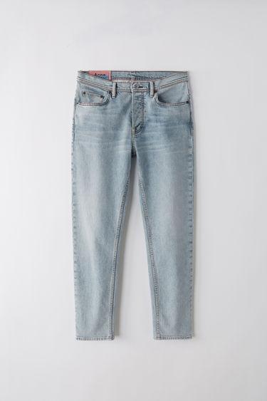 5013bc6be937d BLÅ KONST River Marble Wash Indigo blue 375x · Slim tapered fit jeans