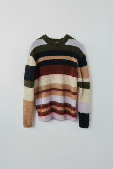 Ready-to-wear FN-WN-KNIT000162 Olive/red multi 375x