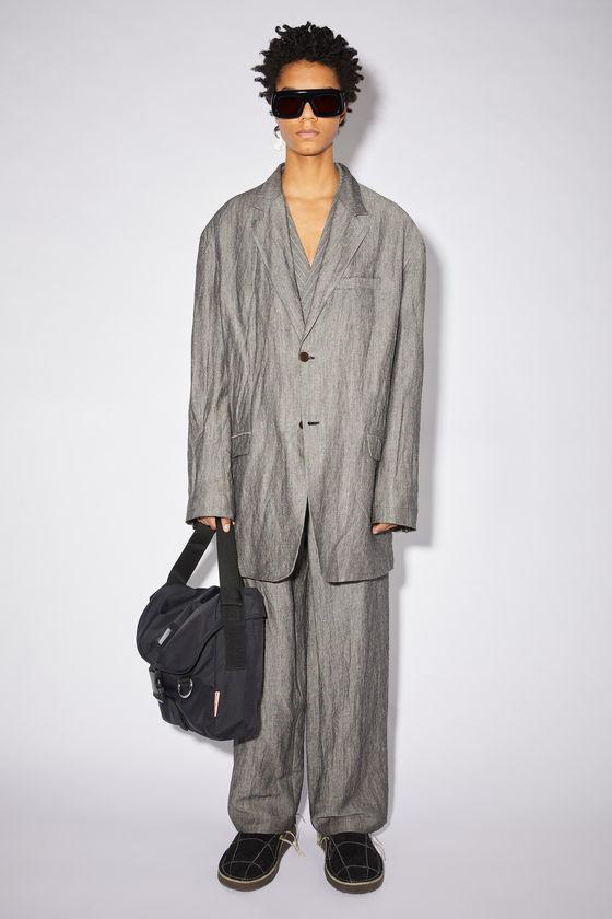 아크네 스튜디오 수트 자켓 Acne Studios Soft suit jacket - Grey Melange