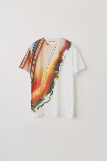Acne Studios FN-WN-TSHI000030 White/orange 375x