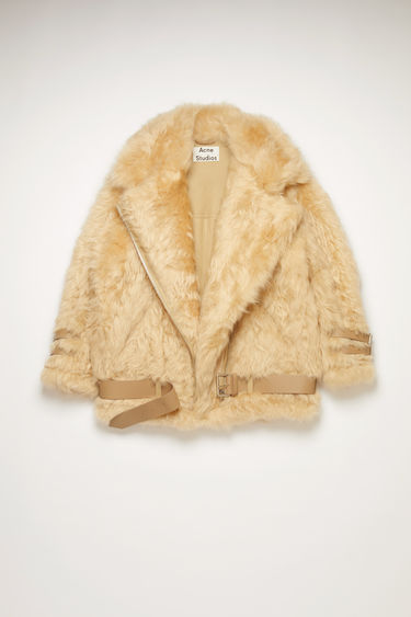 Ready-to-wear FN-WN-LEAT000057 Wheat beige/cream beige 375x