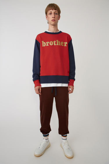 Acne Studios FA-UX-SWEA000002 Red/navy 375x