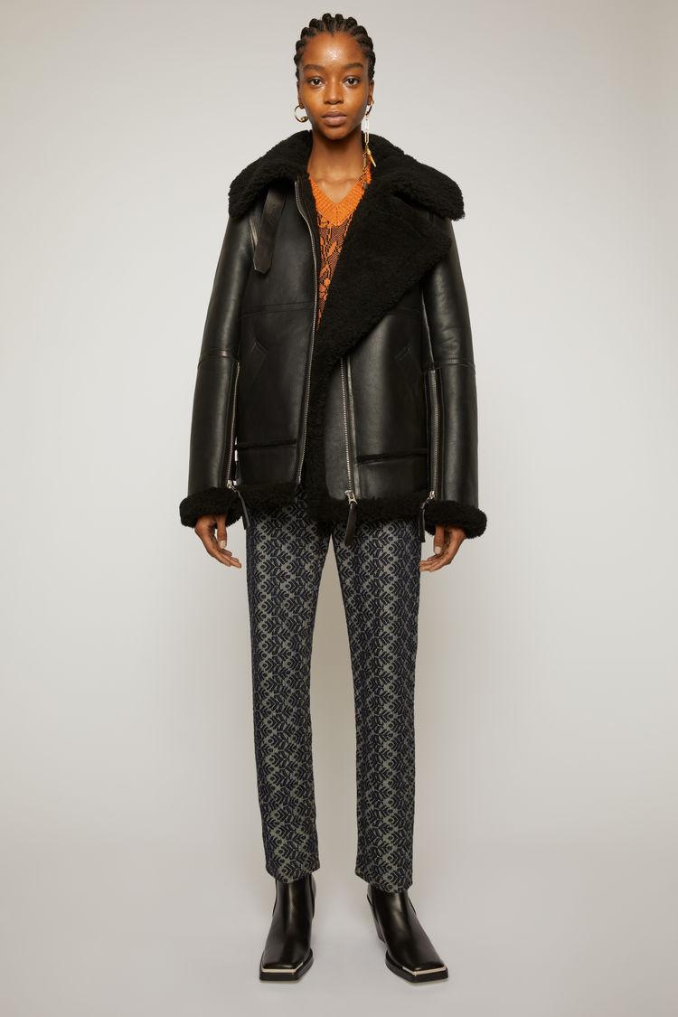 0c7f05767a Shearling jacket Black / Black