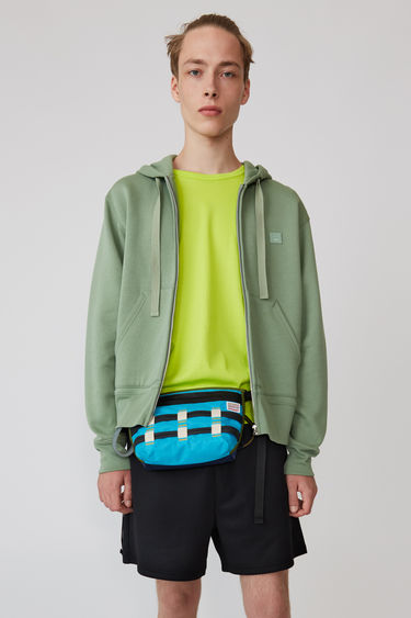 Ready-to-wear Ferris Zip Face Dusty green 375x