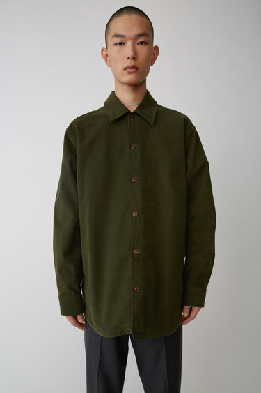 Ready-to-wear FN-MN-SHIR000006 Hunter green 375x