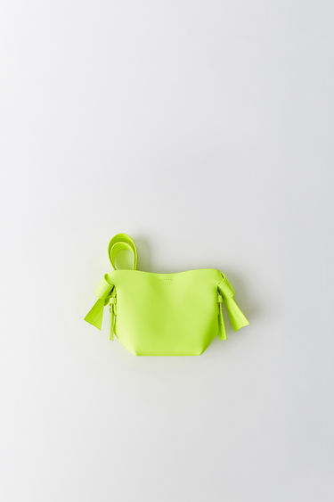 Leather goods FN-WN-BAGS000039 Fluo yellow 375x