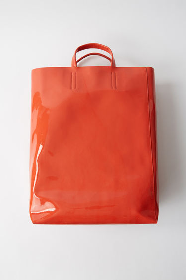 Leather goods Baker Patent Orange 375x