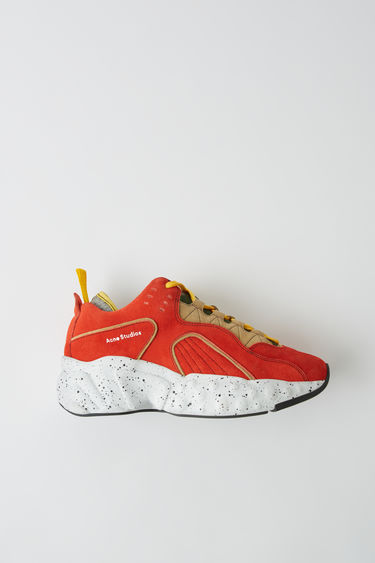 Shoes Rockaway Contrast Orange/beige 375x