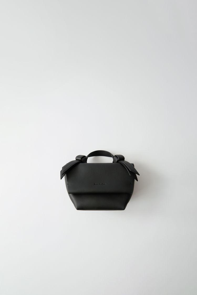 Small Leather Handbag Black by Acne Studios