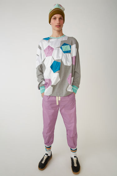 Acne Studios FA-UX-TSHI000005 Grey/purple 375x