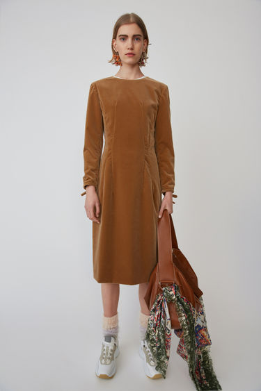 Ready To Wear Fn Wn Dres000009 Camel Brown 375x