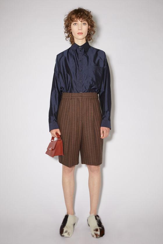 아크네 스튜디오 반바지 Acne Studios Knee-length shorts - Brown/black