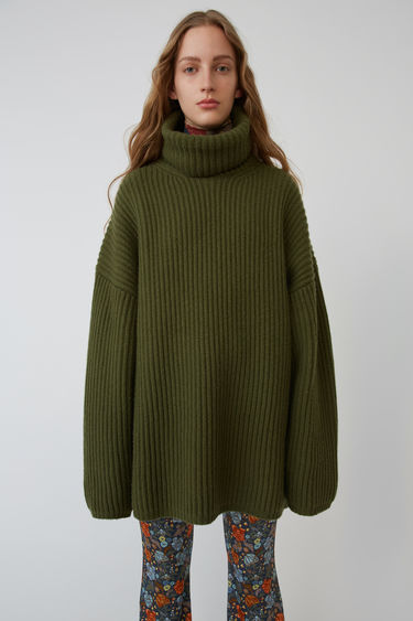Ready-to-wear FN-WN-KNIT000018 Khaki green 375x