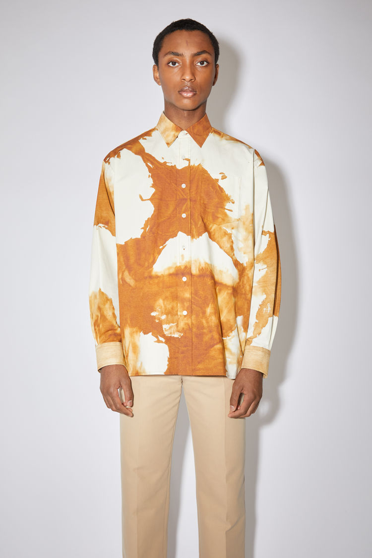 Acne Studios Clothing Oversized shirt Spice brown