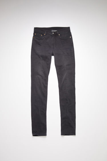 Acne Studios North Used Blk jeans are crafted from comfort stretch denim that's faded and whiskered to give a worn-in appeal. They're shaped for a slender fit with slim legs and a mid-rise waist.
