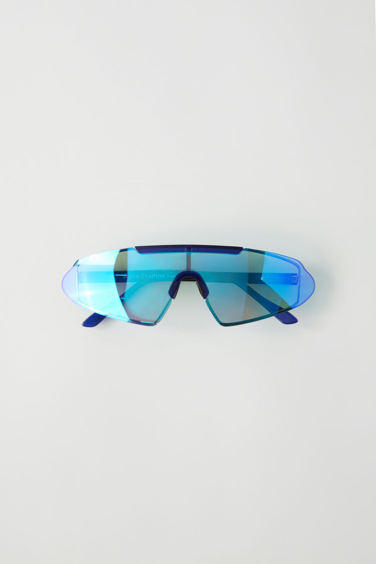 Frameless Sunglasses Silver Blue/Blue by Acne Studios