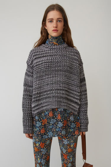Acne Studios FN-WN-KNIT000007 Grey/lilac 375x