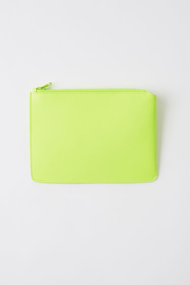 Leather goods FN-UX-SLGS000056 Fluo yellow 375x