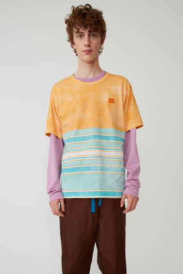 Acne Studios FA-UX-TSHI000009 Orange/green 375x