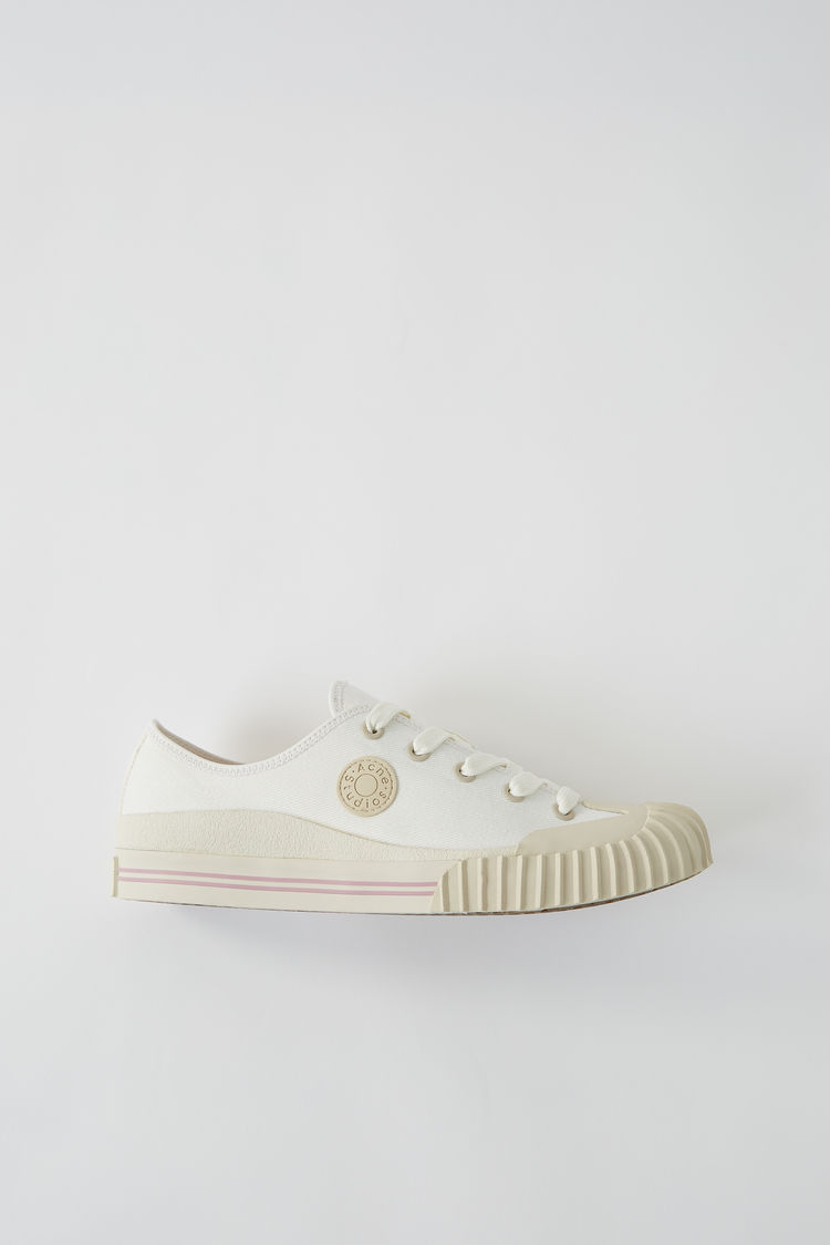 Tennis Shoe Ivory White by Acne Studios