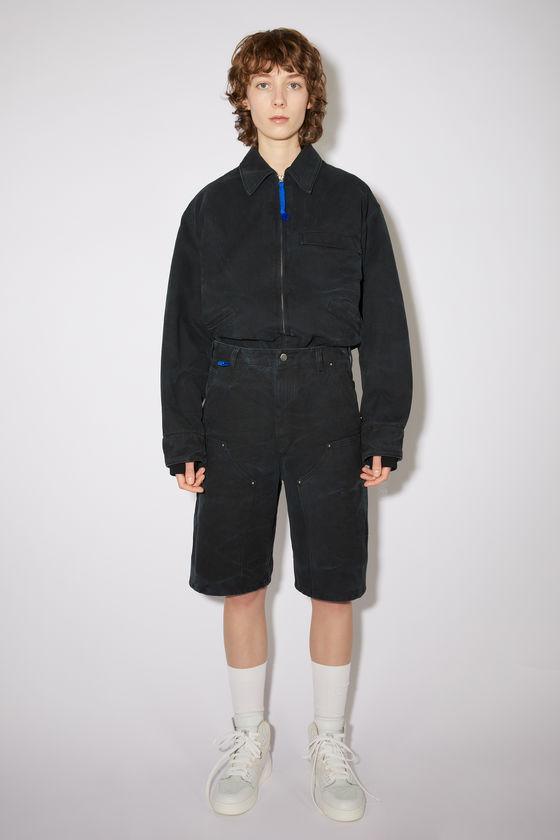 아크네 스튜디오 반바지 Acne Studios Workwear shorts - Black