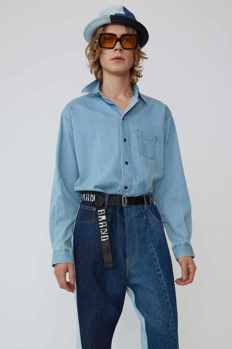 5eb23d3725b Acne Studios - Long-sleeved shirt Mid blue