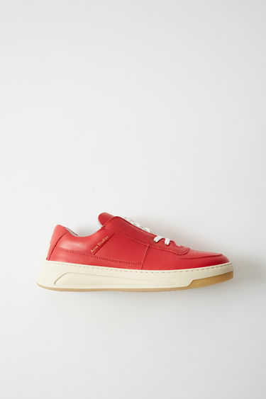 Shoes Perey Lace Up Red/white 375x