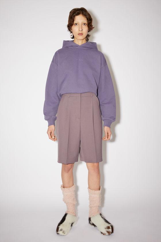 아크네 스튜디오 반바지 Acne Studios Knee-length shorts - Mauve purple