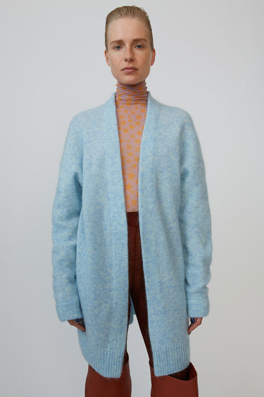 Acne Studios Raya Sh Mohair Dusty blue 375x