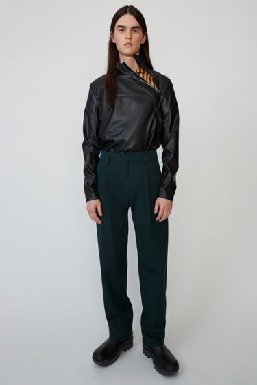 Ready-to-wear FN-MN-TROU000177 Forest green/black 375x