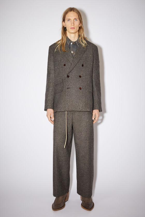 아크네 스튜디오 수트 자켓 Acne Studios Tailored suit jacket - Brown melange