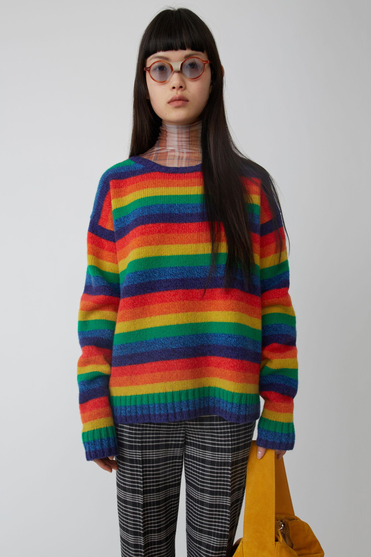 ACNE STUDIOS Basic sweater multi