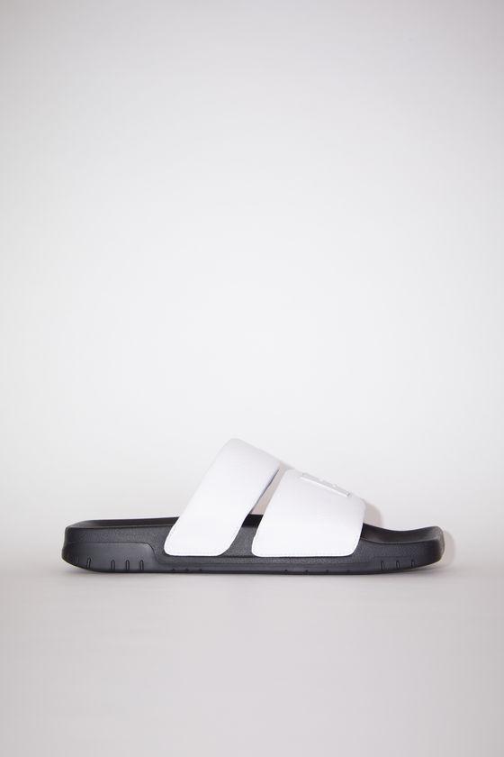 아크네 스튜디오 샌들 Acne Studios Flat sandals - White/black
