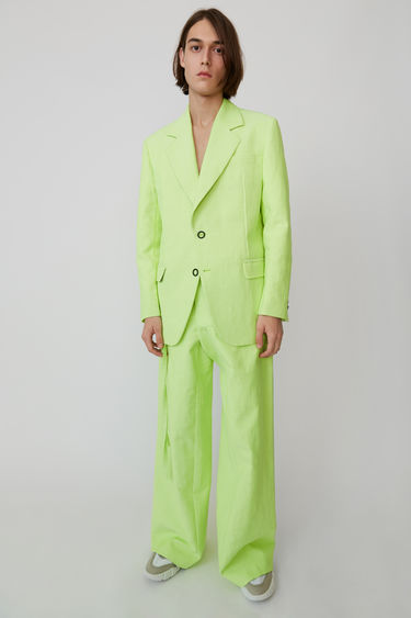 Ready-to-wear FN-MN-SUIT000034 Fluo Yellow/Off White 375x