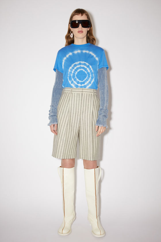 아크네 스튜디오 반바지 Acne Studios Knee-length shorts - Grey/white