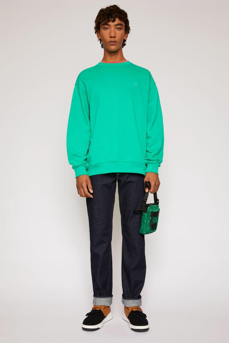 Oversized sweatshirt Emerald green