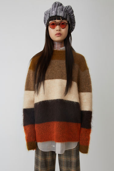 Acne Studios Albah Mohair Orange/multi 375x