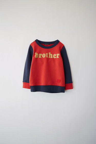 Acne Studios FA-MI-SWEA000003 Red/navy 375x