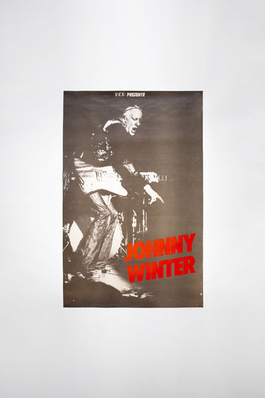 Johnny Winter Auction Johnny Winter Vintage 30 Black/black/white 375x