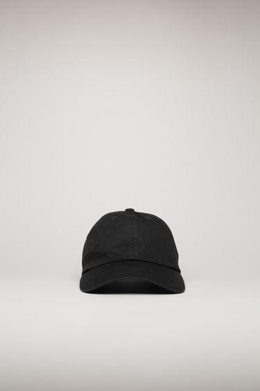 아크네 스튜디오 볼캡 모자 Acne Studios Face patch cap black