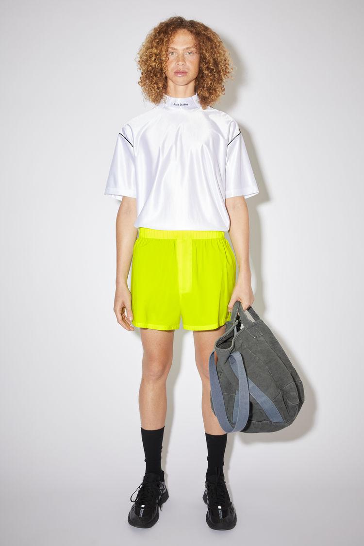 Acne Studios Neon shorts Neon yellow