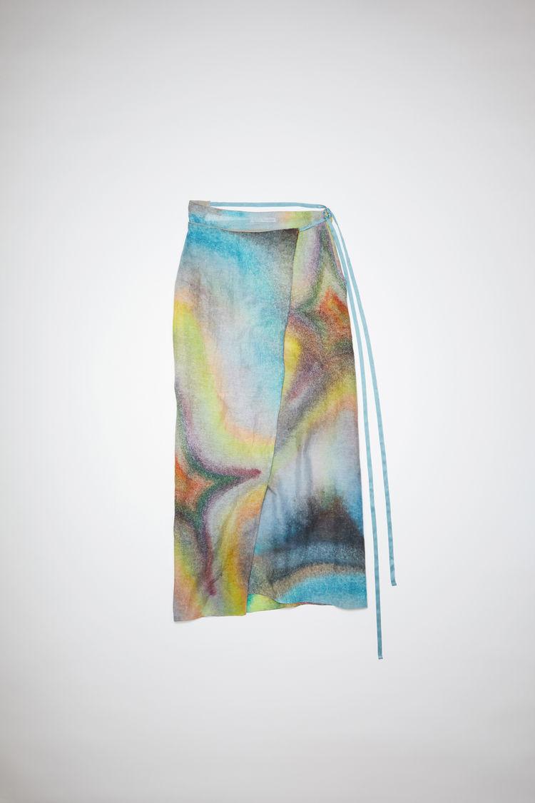 ACNE STUDIOS Linens Linen skirt Multi