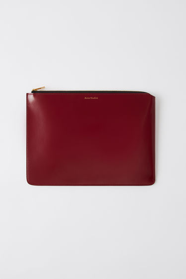 Leather goods FN-UX-SLGS000051 Burgundy 375x