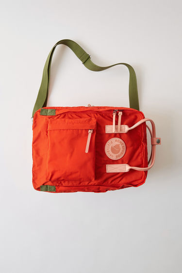 Fjällräven Kånken Messenger A/F Deep orange 375x