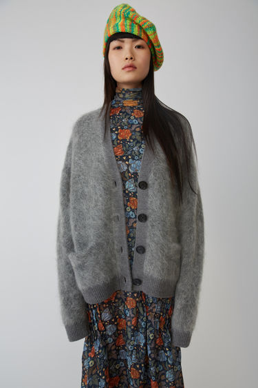 Acne Studios Rives Mohair Grey Melange 375x