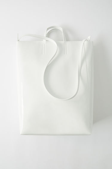 Leather goods Baker Patent White 375x