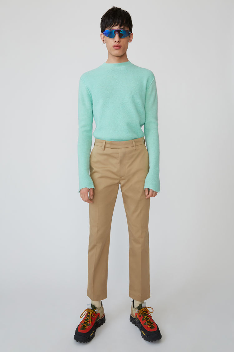 Chino Trousers Sand Beige by Acne Studios