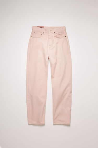Acne Studios Mece Rose Twill jeans are crafted from cotton twill that's garment dyed to add softness and give a lived-in appeal. They're shaped to sit high on the waist before falling into cropped, straight legs.